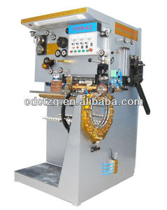 Semi-auto tinplate packing machine/oil bucket cans welding machine/best welder for chemical cans and square bucket