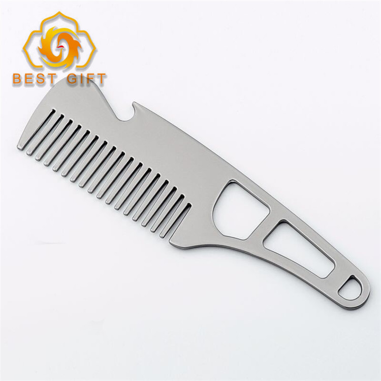 Hot Sale Promotional Gift Comb Shaped Stainless Steel Bottle Opener