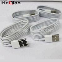 Wholesale 1M white data cable for iphone 6 cable mfi certified original quality usb charger customized logo