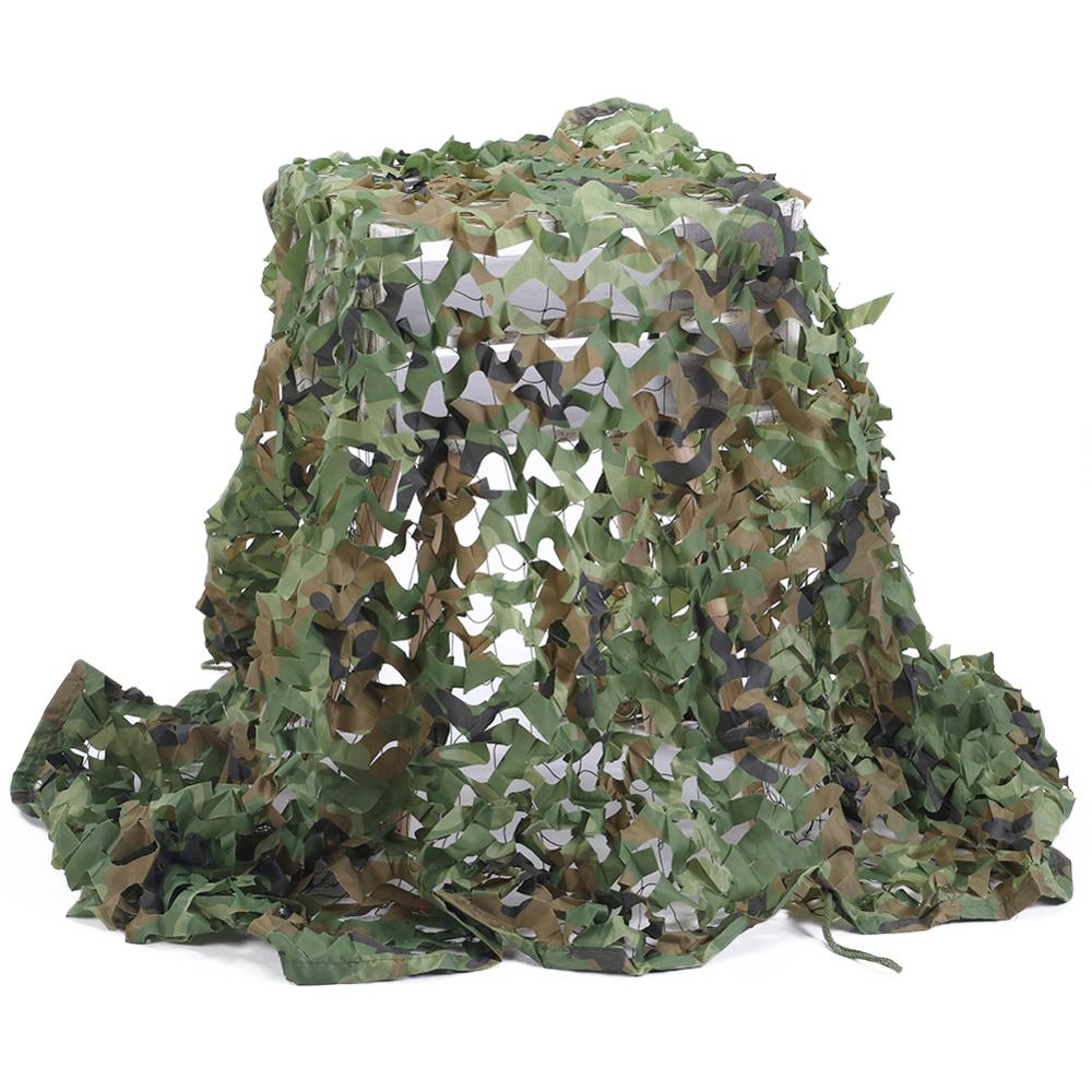 3D Woodland Mesh Shadow Jagd Kiefernadeln Military Camo Netting Anti-Radar Armee Tarnnetz