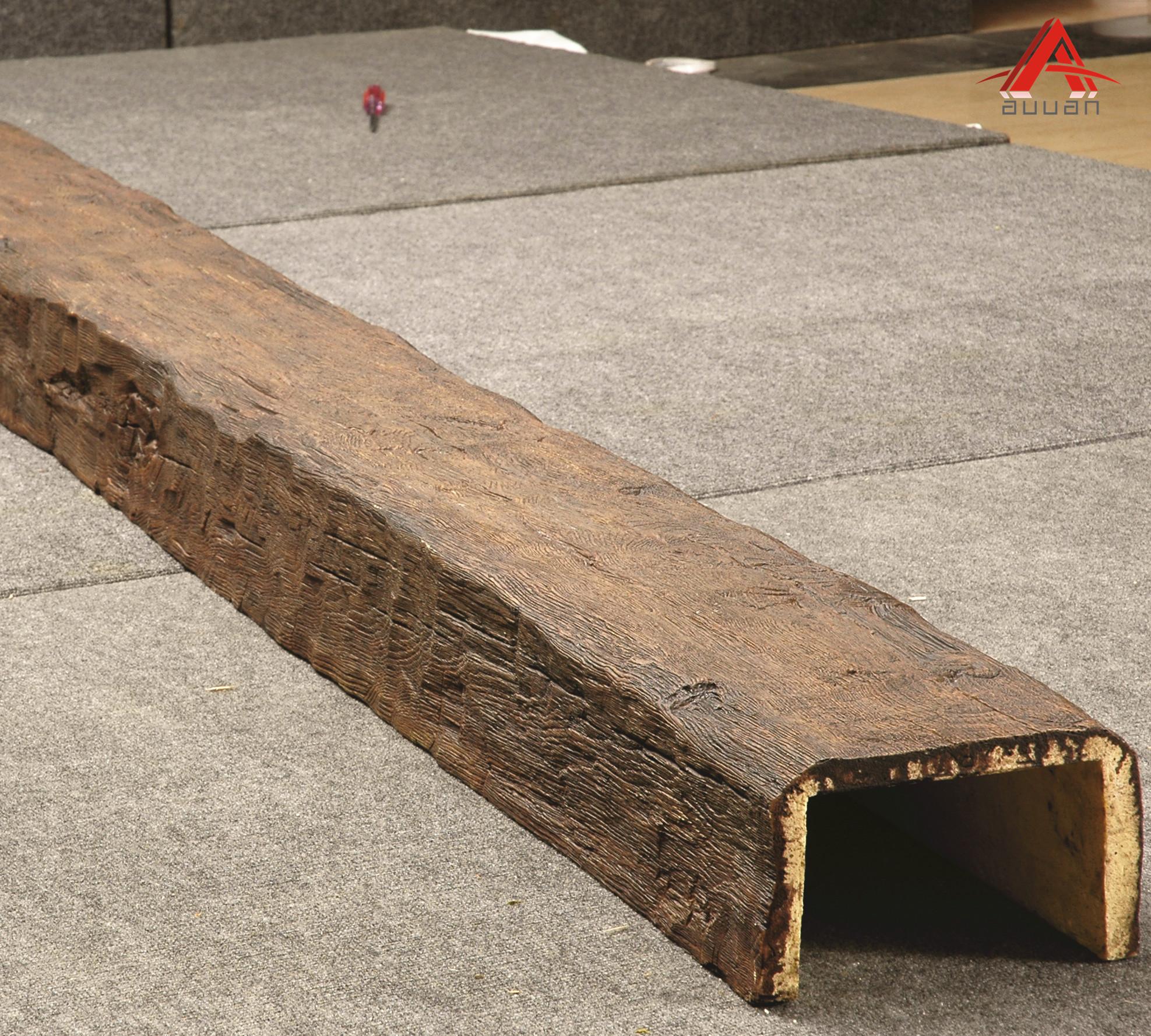 Lows Customize Rustic Pu Polyurethane Faux Wood Beam