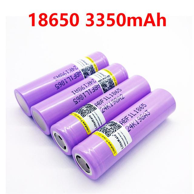 Liitokala lii-F1L Originals 3.6 v 18650 INR18650 F1L 3000 mah 3350 mah 3400 mah 4.2 v Cut Off Rechargeable Battery for