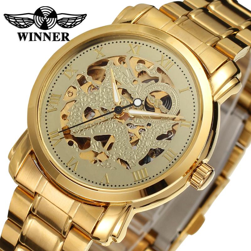 Exceptionnel T-gagnant En Gros Squelette montres Hommes de mode De Luxe Marque  PN82