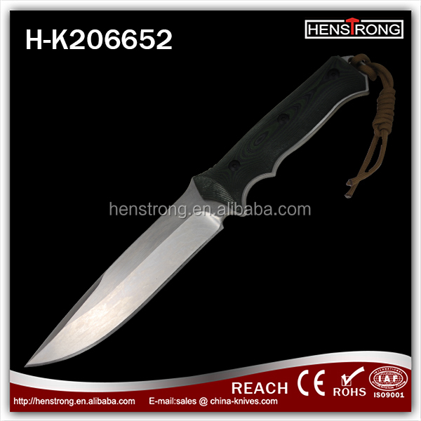 Best Quality 7Cr17 Stainless Steel Wholesale Outdoor Furniture Rescue Knife, 440 stainless steel knives