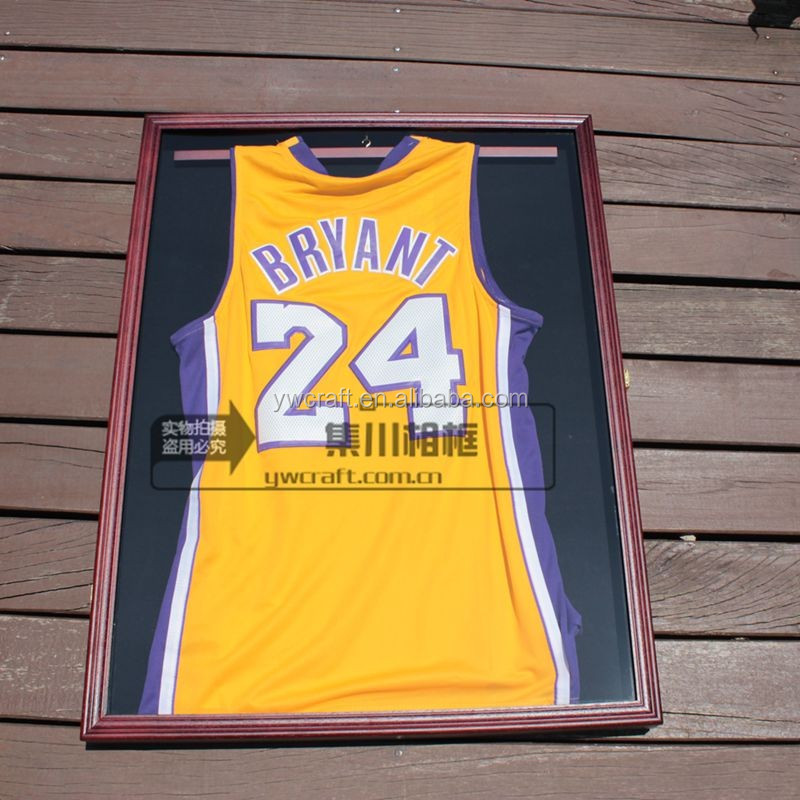 Xxl Solid Wood Football/basketball/hockey Uniform Jersey Display ...