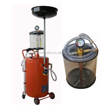 80L Air-Evac Portable Pressurized Oil Drain With Casters