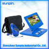 New Design 7 inch Portable DVD Player with USB Port, LCD Screen Portable DVD Players with 800x480 Pixels Resolution