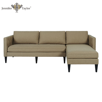 Fabric Corner Sofa One Piece MOQ Furniture Sectional L Shaped Sofa/home Furniture  Sectional