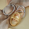 Newest fancy design H shaped scarf ring for Christmas Gift(PR1545)