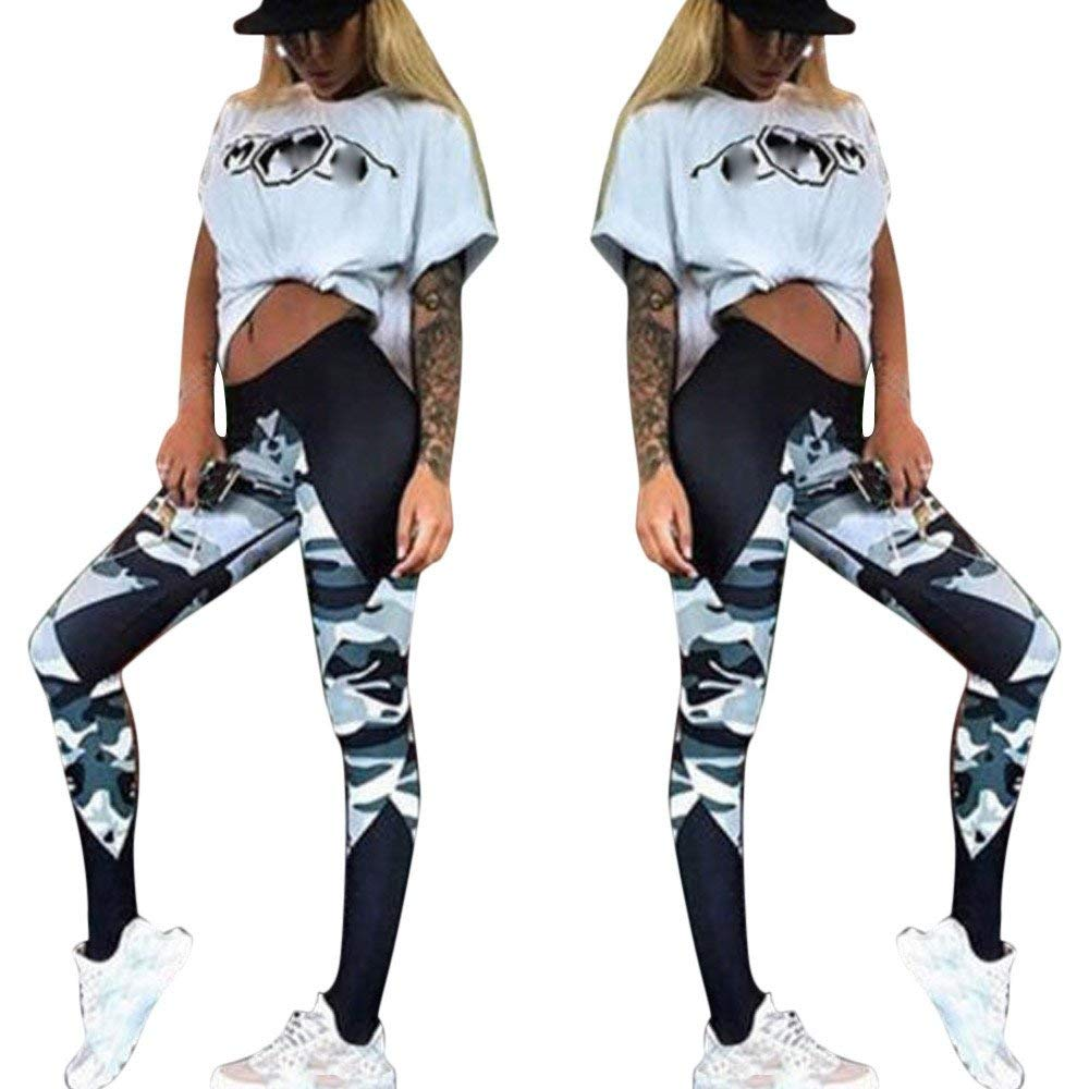 349f0fa1321f5e Get Quotations · OWMEOT Womens Workout Leggings Fitness Sports Gym Running  Yoga Athletic Pants