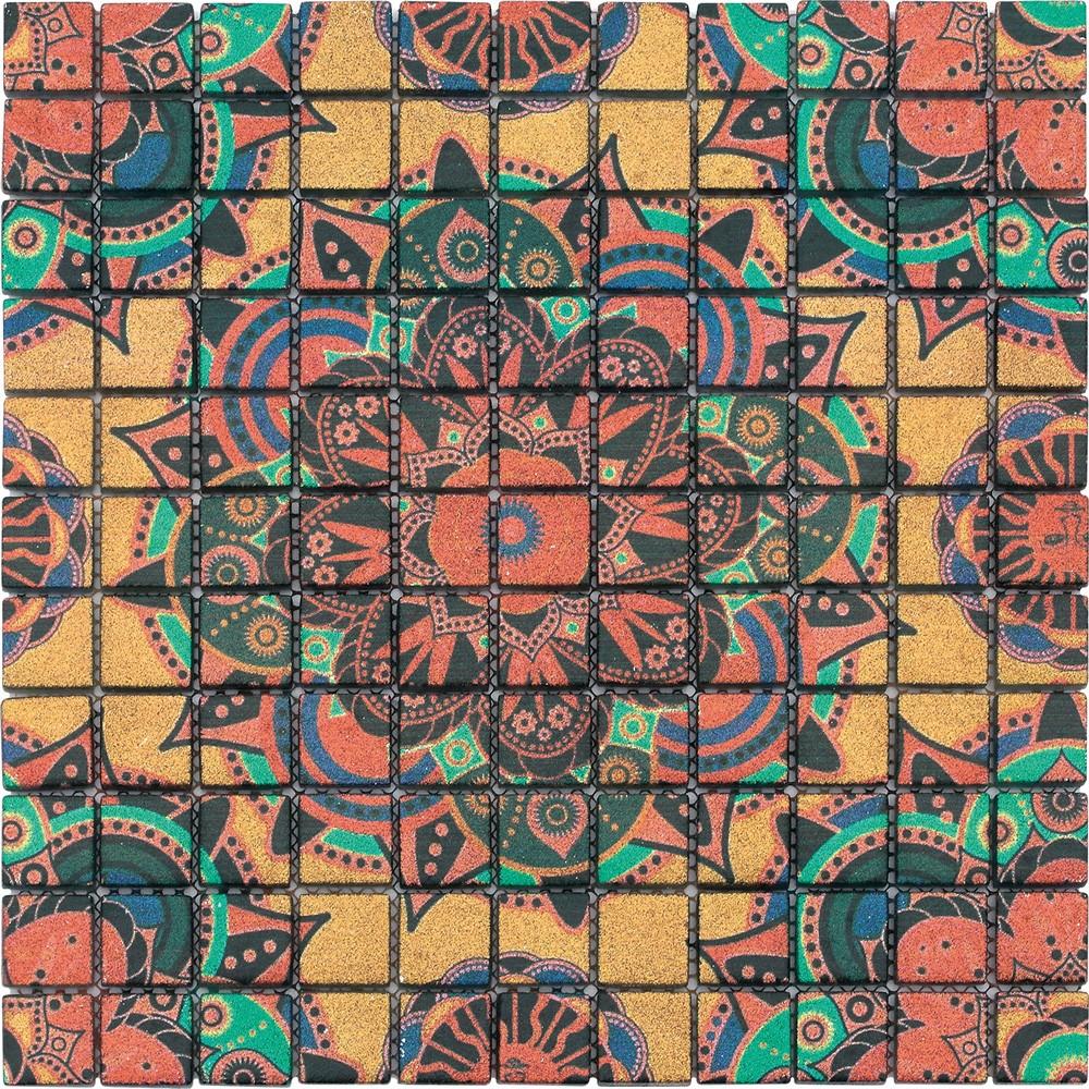 Azulejos de cristal de cristal backsplash mosaicos - Azulejos de cristal ...