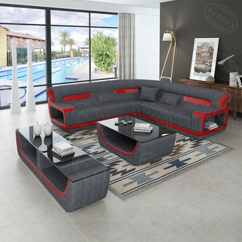 New Design Modern Kk Casa Genuine Leather Sofa Furniture L Shaped
