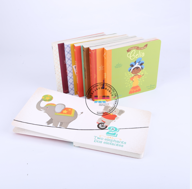 China high quality fast delivery custom cheap hardcover Children book printing