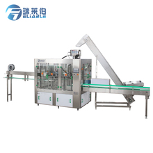 High Speed Auto Rotary Bottle Pure Water Washing Filling Sealing Machine For Small Scale