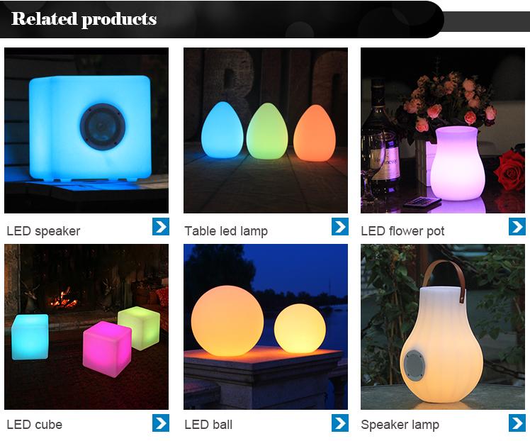 Brillante muebles sofá Venta caliente diseños de luz LED de plástico sofá clásico