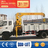 Chinese quick lift radio control crane for truck manufacturer
