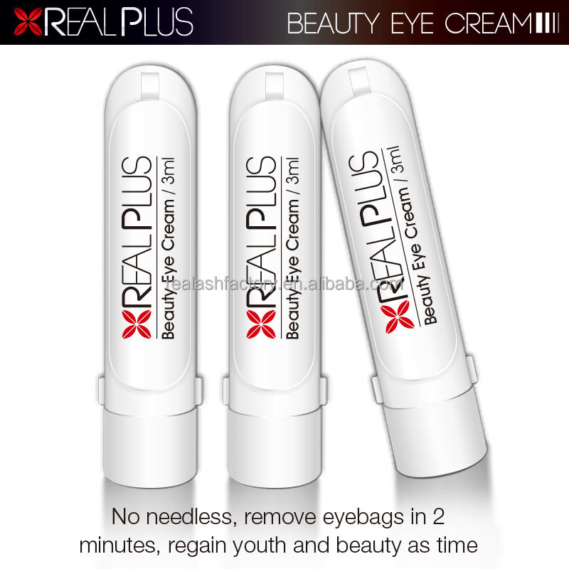 Chinese magic product Real Plus brand 2 minutes eye bag removal cream