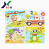 hotsale 3d diy puzzle game paper cardboard jigsaw puzzle for kids