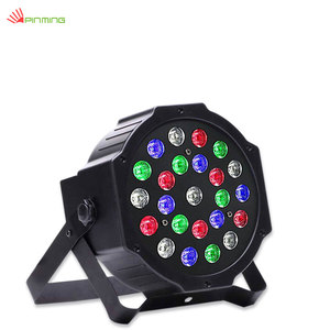 China Professional 24LED Stage Lighting Black Plastic Party Disco Show Par Lights