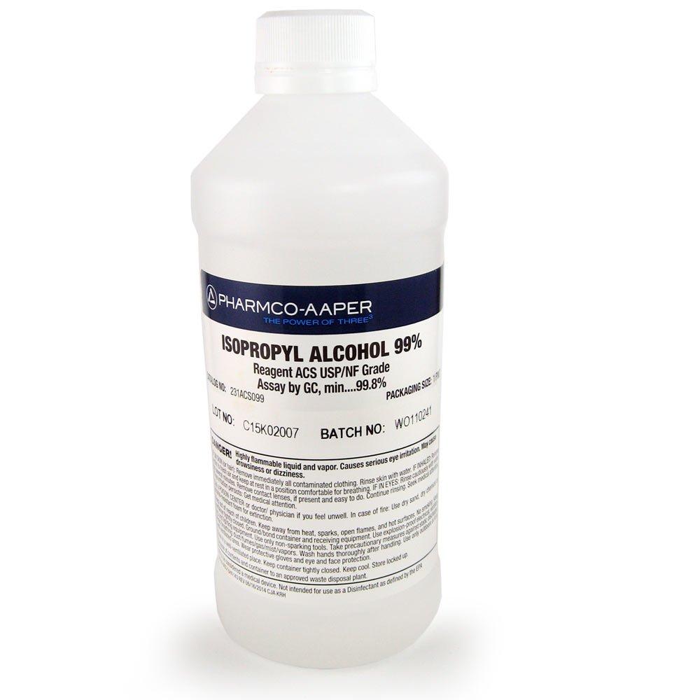 Get Quotations Isopropyl Alcohol 16oz ACS USP NF 998 Min