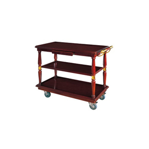 Factory Direct Sale Hotel Room Wood Food Service Cart