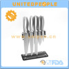 wholesale bulk 12 piece stainless steel super kitchen knife set with acrylic stand
