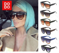 Shadow Shield Flat Top Oversized Women Ladies Men Fashion Designer Sunglasses ASD024