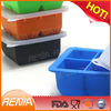 RENJIA silicone ice cube tray with lid ice tray with storage box silicone cube ice tray