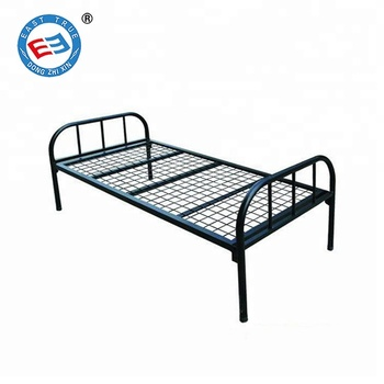 low priced 828b1 48fe4 Vintage Iron Pipe Single Metal Bed Frame Steel Bed Frame Simple Worker Iron  Bed - Buy Cheap Iron Bed,Steel Bed,Metal Bed Product on Alibaba.com