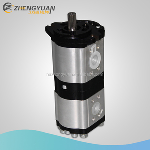 High quality tandem gear pump Group 2 hydraulic gear pump oil pump for tractor and agriculture machines