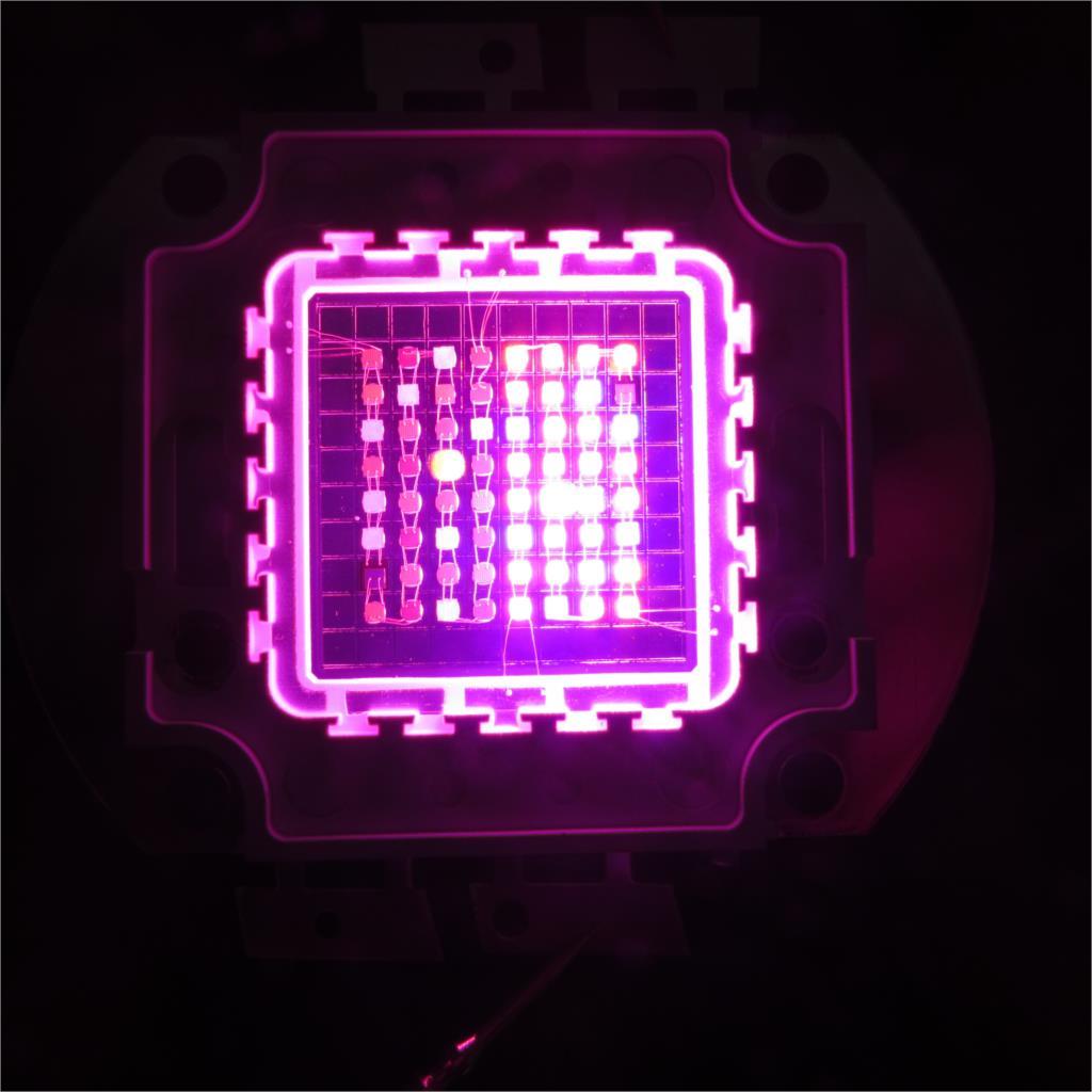Diy 64x3w Led Grow Light 8 Band Multi Color Full Spectrum