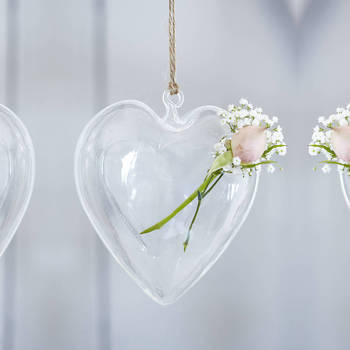 clear christmas glass heart shaped ornaments buy clear glass heart