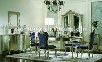 2012 neoclassical furniture dining table NC1201-dining