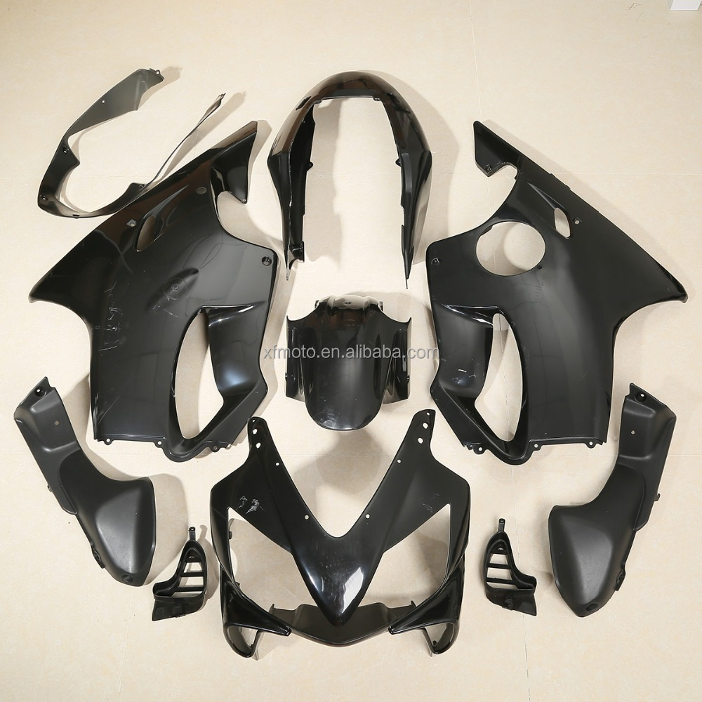 Black Injection ABS Fairing Cowling Body For Honda CBR 600 F4I 04-07 Unpainted