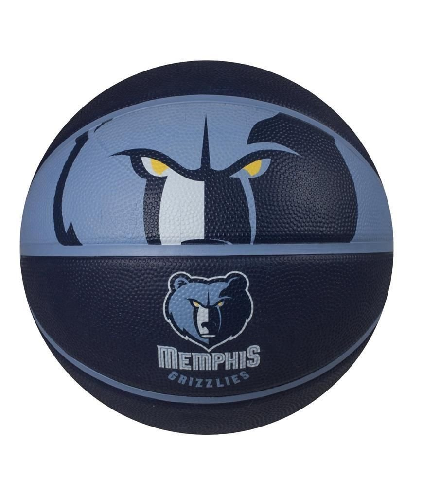 f7359fb4f22 Get Quotations · NEW Spalding NBA Courtside Team Outdoor Rubber Basketball  Memphis Grizzlies