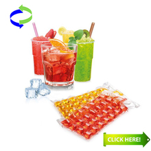Wholesale Plastic Disposable Ice Cube Bag with Good Quality