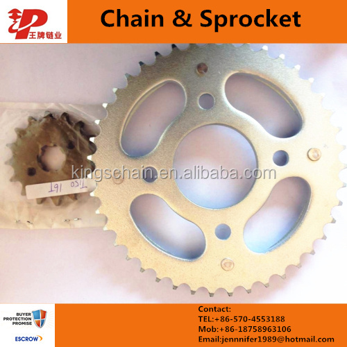 ax100 motorcycle sprockets