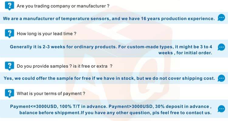 GTS200 dallas waterproof temperature sensor ds18b20 probe price