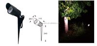 led garden spike light lawn light cob led spotlight