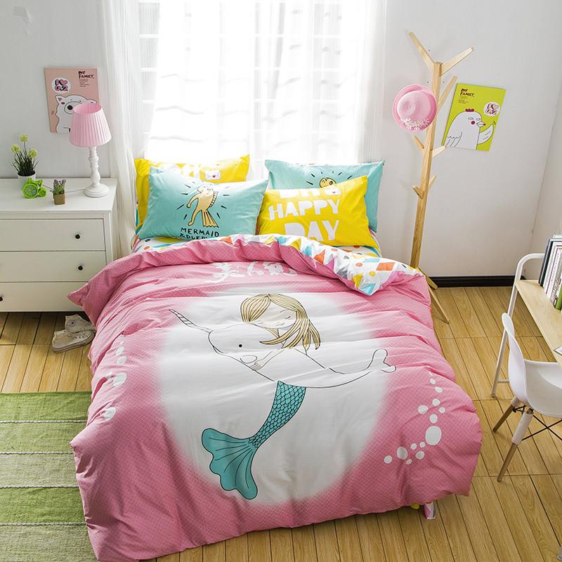 Online Get Cheap Mermaid Bedding Aliexpress Com Alibaba