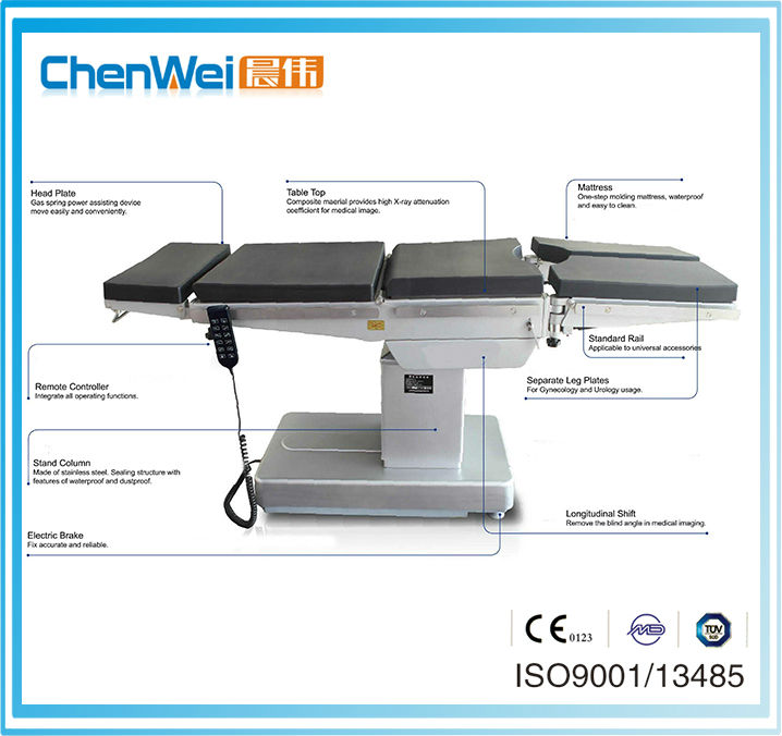CE marked medical instrument operation table PT-2000A