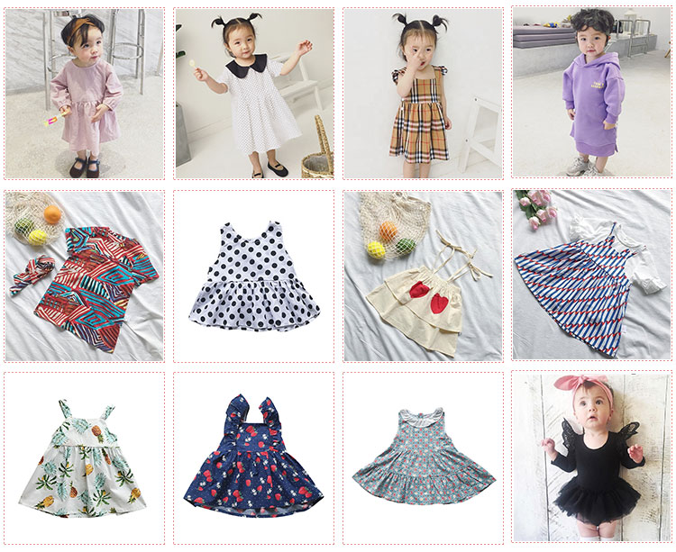 Summer Print PP Shorts Wild Girls Baby Flying Sleeve Irregular Swallowtail Baby Dress Children's Clothes Set