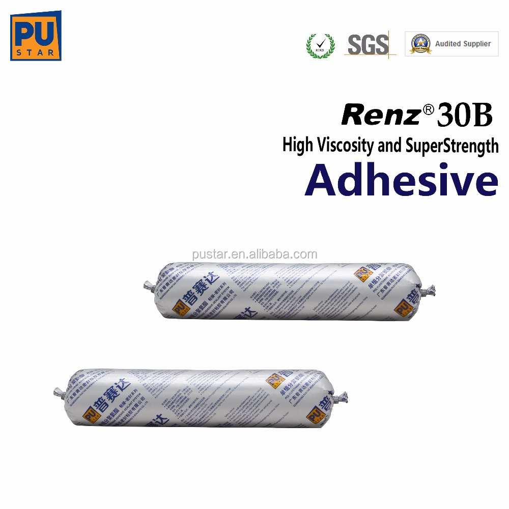 Short SDAT Polyurethane Windshield Adhesive