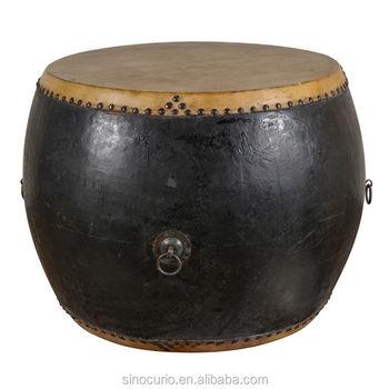 Chinese Antique Decorative Drum Table