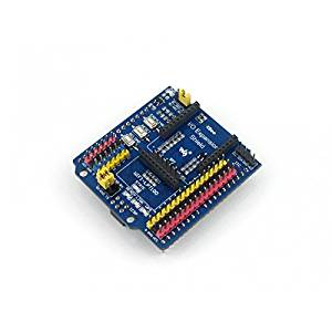 Angelelec DIY Open Sources Sensors, IO Expansion Shield, 3-Pin 4-Pin Sensor Interfaces, Supports Connecting Sensors Directly Without Complicate Custom Connections Wifi-LPT100 Wireless Module Connector