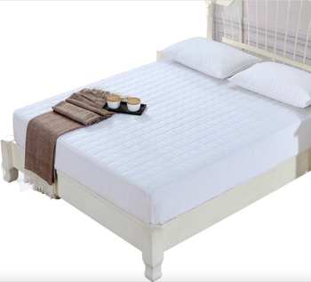 White terry Hypoallergenic Pocket Mattress Protector