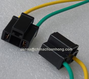 H4 2 Way 3 Way Headlight Fog Light Bulb Connector W/repair Wire Harness Headlight Connector Wiring on
