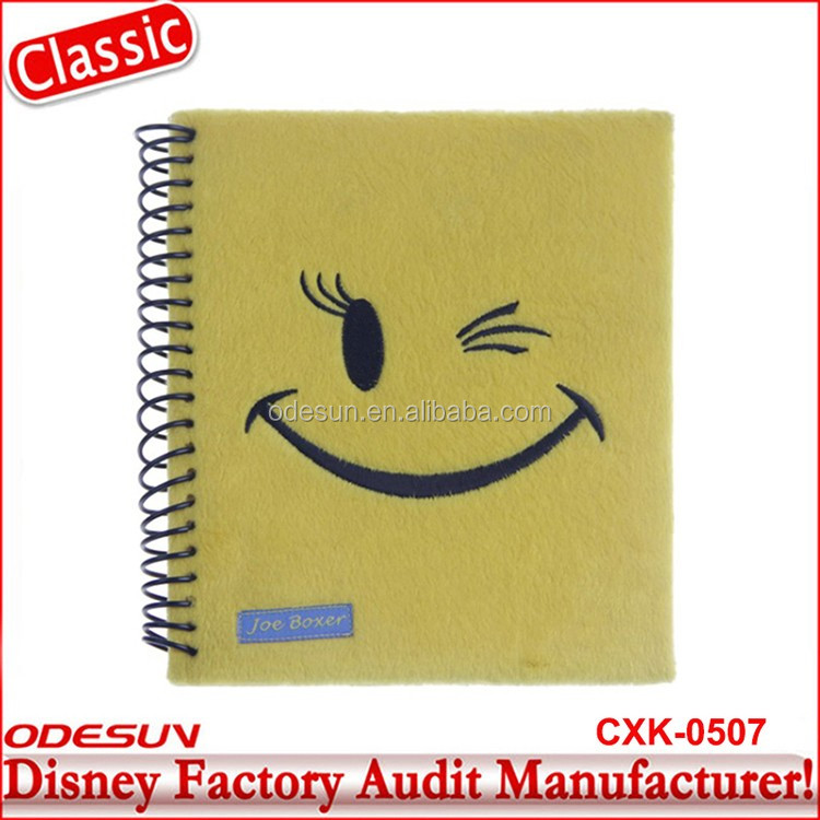 Disney Universal NBCU FAMA BSCI GSV Carrefour Factory Audit Manufacturer Wholesale Printing Logo Inserts For Spiral Notebooks