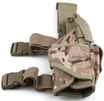 Adjustable Wrap-around Nylon Quick Release Outdoor Hunting Military  Tactical Puttee Thigh Drop Leg Tactical Pistol Gun Holster - Buy Leg  Holster,Thigh