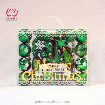 la71 ceramic christmas gift box ribbon curly bows xmas hanging